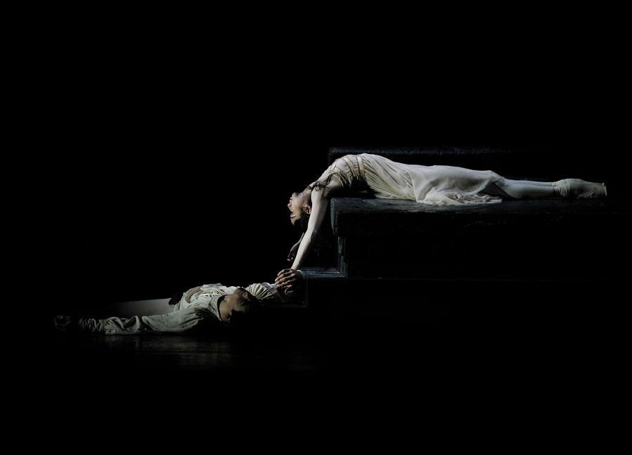 バレエ版ロミオとジュリエット最後のシーン