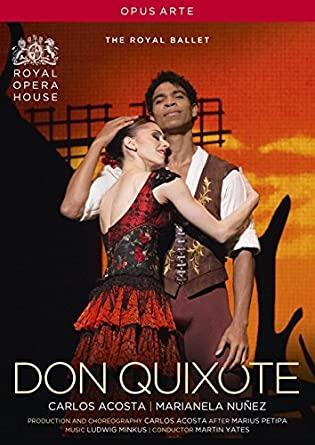 youtube限定無料公開「ドン・キホーテ」英国ロイヤルバレエ団マリアネラ・ヌニェス、カルロス・アコスタ主演