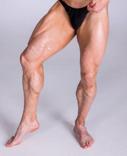 体毛がないと筋肉がきれいに見える